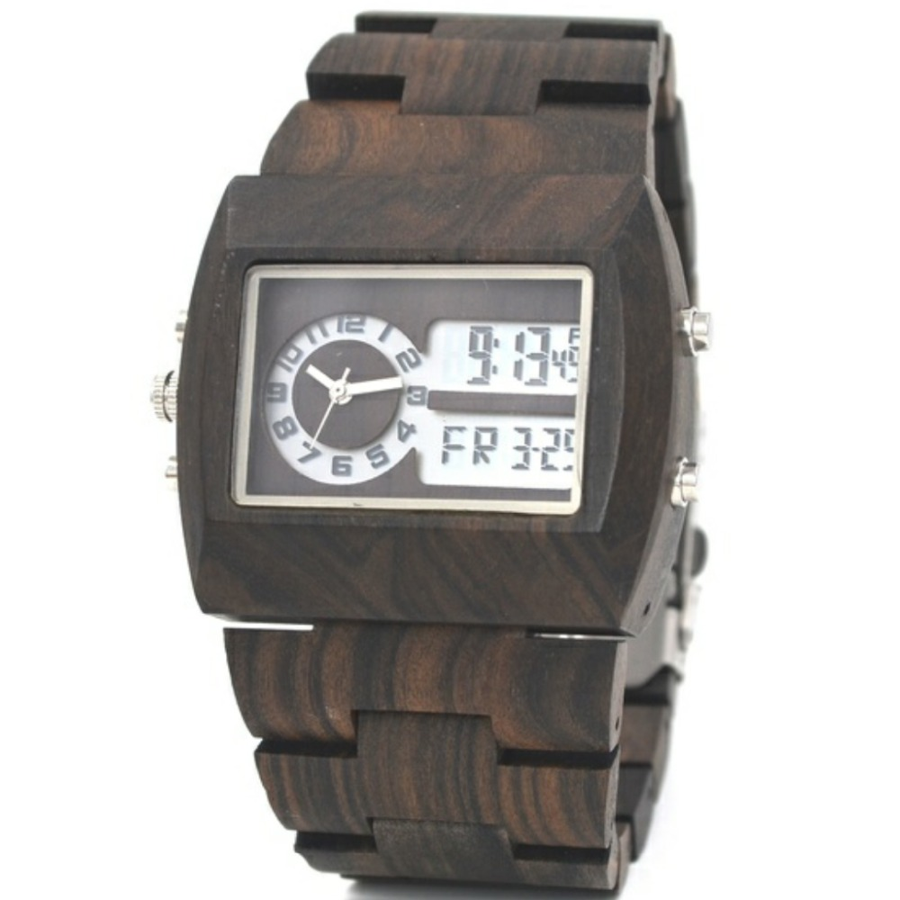 Wooden Wrist Watch mens Top Luxury Brand New Natural Quartz Wooden Verawood Watches Men Clock Wood Watch With LED Luminous Watch dwg brand new wooden watch japan quartz movement rhinestone ladies fashion brown wrist watches women cherry wood clock with box