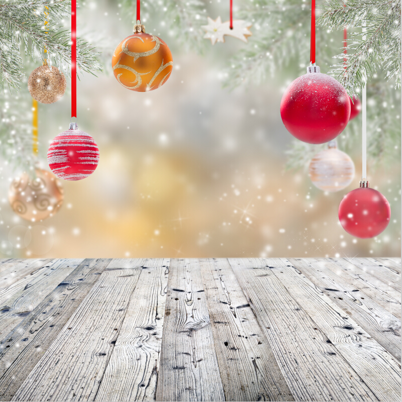 10x10ft Vinyl Custom Photography Backdrops Prop Christmas day theme Background HUC-041 10x10ft christmas day photography background vinyl custom photography backdrops sd 844