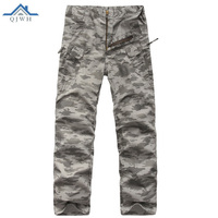 High Quality 2017 Outdoor Spring Autumn Military Trousers Men Cotton Commando Ix7 Tactics Camouflage Camping Hiking