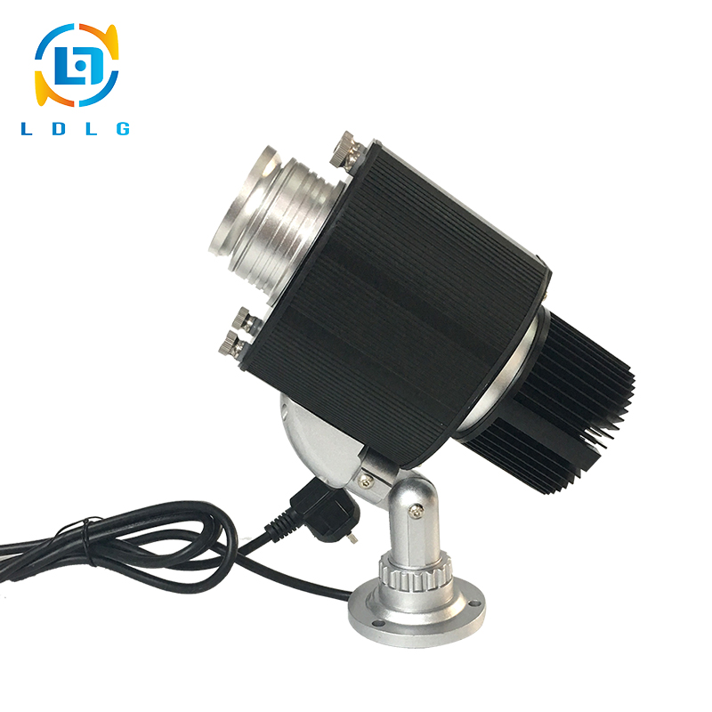 CE and RoHS Approved OUTDOOR Single Image Static 10W LED Shop Sign Log Image Projector Advertising LED Sign Logo Projector Light