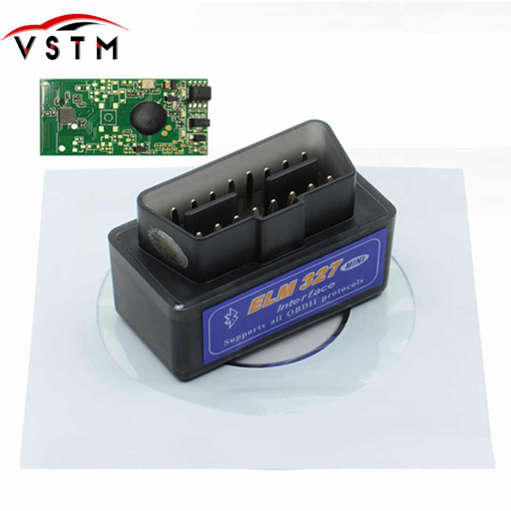 ELM327 V2.1 Bluetooth OBD OBD2 Code Reader CAN-BUS Supports Multi-Brand Cars Multi-Language ELM 327 BT V2.1 Works Android/PC