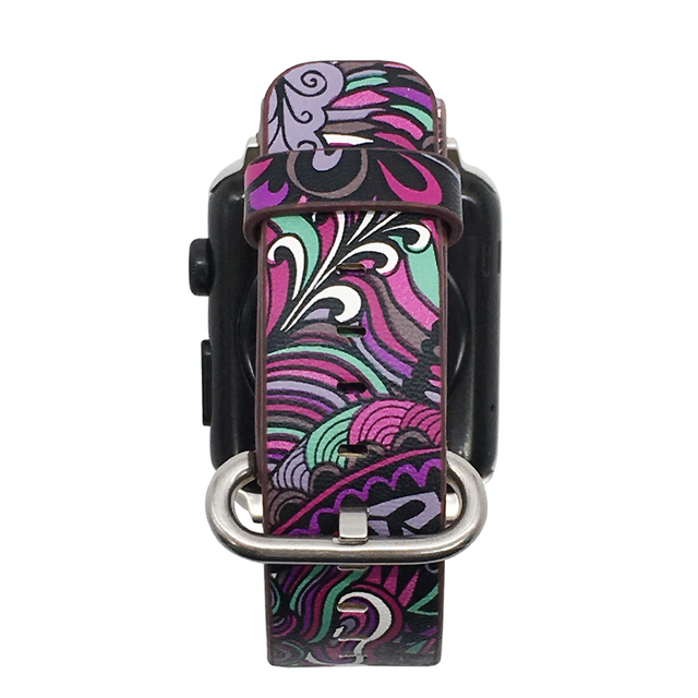 Floral Print Band for Apple Watch 3