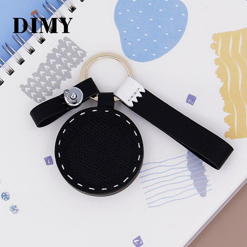DIMY Handmade Original Custom Panda Charm Animals Pendant Bag Charms Leather Epsom Palmprint Cattle Hide Simple Accessories