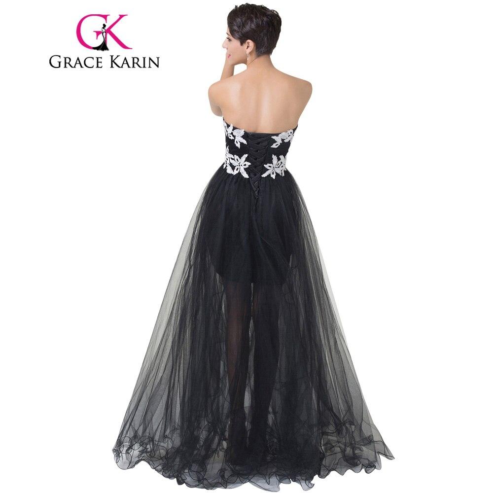 to wear - Prom black dresses short front long back video