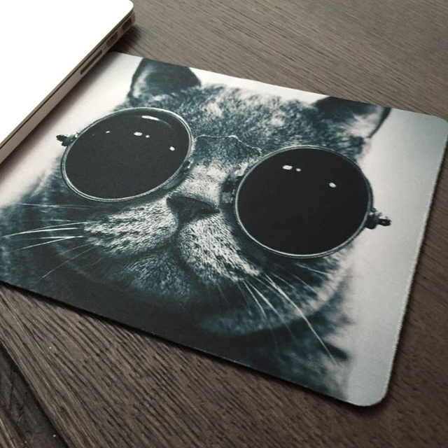 Flower Pattern Fashion Women Mens Mousepad Gaming Laser Mouse Pad 2015 Computer Accessories Optical Mice Mat For Trackball Mouse