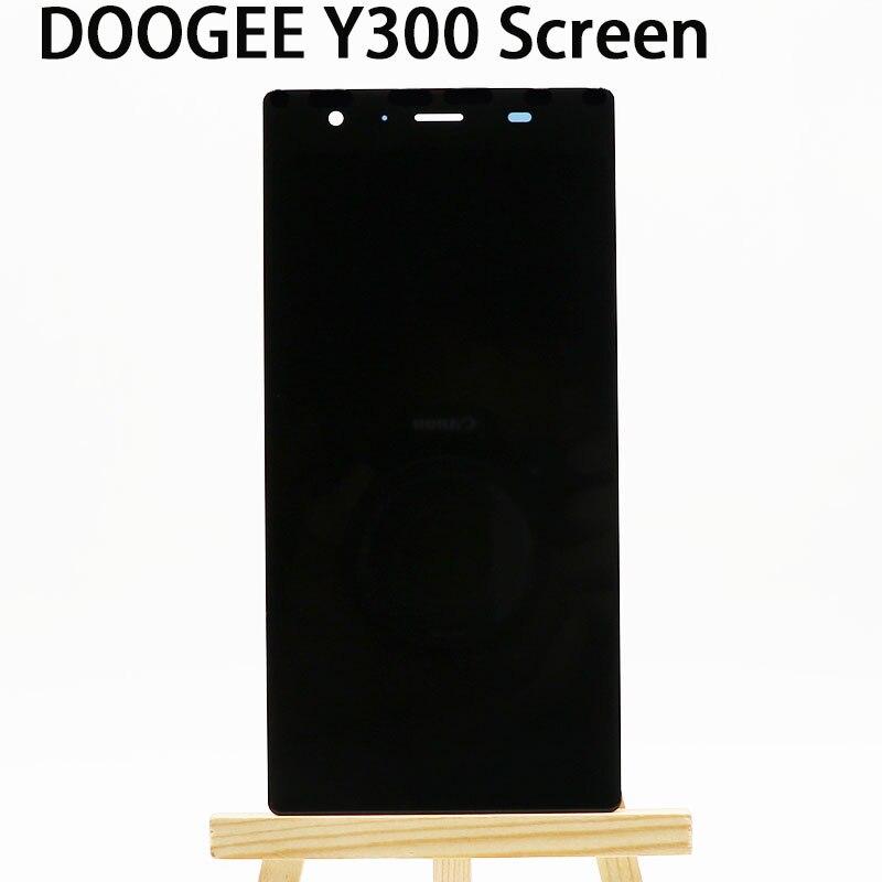 imágenes para Para DOOGEE Y300 Pantalla LCD Nueva exhibición Original del lcd + Touch Panel Reemplazo Para DOOGEE teléfono Móvil Y300 XLD0504550B1