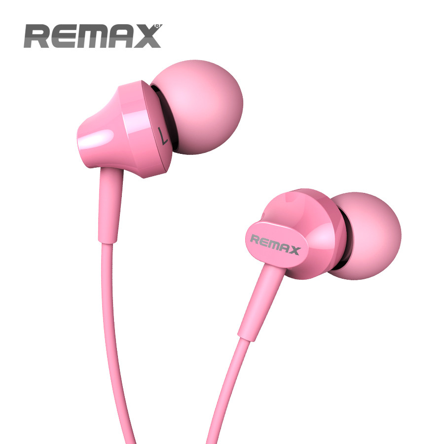 REMAX In-ear Stereo Earphone With Mic For iPhone Smartphone RM-501 remax rm 610d base driven high performance stereo earphone with microphone and in line control rm 610d