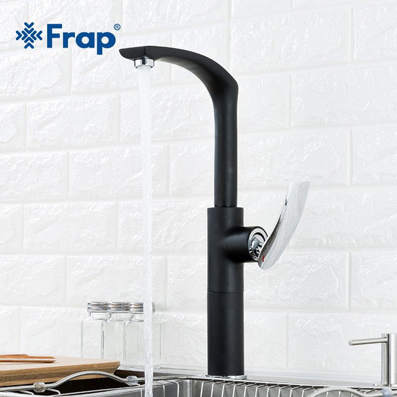 Frap New Kitchen Faucet 360 Degree Rotation Swivel Easy Wash For Kitchen Faucet and Basin Plumbing Hardware Sink Faucet Y40068-1 kitchen faucet rotation rule shape curved outlet pipe tap basin plumbing hardware brass sink faucet