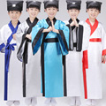 Children Chinese Hanfu Costume 5 Color Boy  Robe +belt + Hat Chinese Traditional Student Costume Tang Ancient Chinese Costume 18