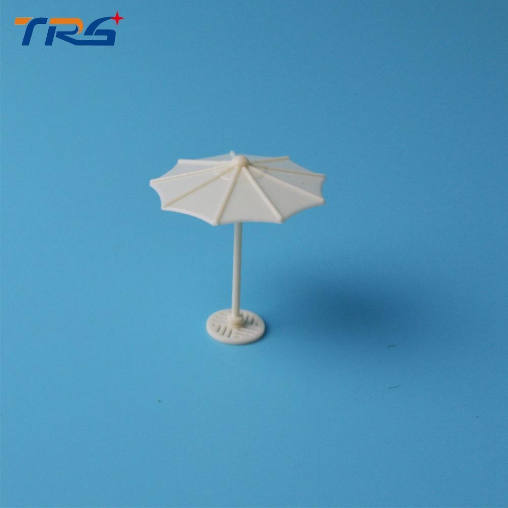 50pcs/lot scale model artificial kits umbrella didactical doll 1:75