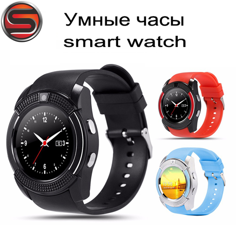 SOVOGU G24 DZ09 U8 Y1 V8 A1 Smartwatch Bluetooth Smart Watch With Camera SIM TF Card Watch For Android IOS phone In RetailBox
