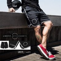 Mens Summer New Fashion Casual Brand Shorts Gyms Fitness Sweatpants Short Trousers Joggers Workout Bodybuilding Short