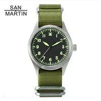 Сан Мартин модные женские туфли для мужчин пилот часы нержавеющая сталь часы 200 м водостойкие кварцевые Move для мужчин t наручные сапфировое