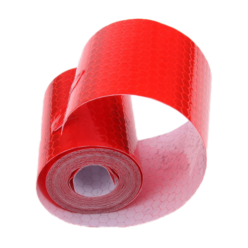 Reflective Tape Car Warning Tape Stickers Car Mouldings Safe Material Safety For Automobiles Truck High Quality