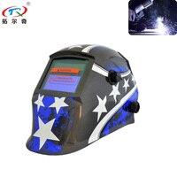Camaleão Auto Escurecimento Capacete de Soldagem Filtro Máscara Facial Proteja Cap Solda Tig Mig Elétrica TRQ-JD08-2200DE