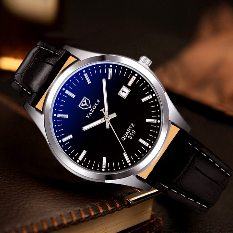 Classic Business Wrist Watch Men Watches Famous Brand Fashion Wristwatch Top New Male Quartz Watch For Men Clock With Calendar