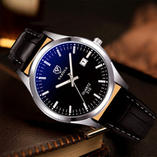YAZOLE Business Wrist Watch Men Top Brand Luxury Famous Wristwatches Quartz Watch For Male Clock Relogio Masculino With Calendar