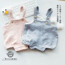 Ins/Новинка; Детский комбинезон; Весенний комбинезон; цельнокроеная одежда для малышей; хлопковая шапка с рисунком кролика для девочек