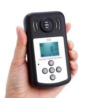 Профессиональный ЖК дисплей Дисплей сероводород метр H2S анализатор детектор Температура измерения сигнализации значение устанавливаемых