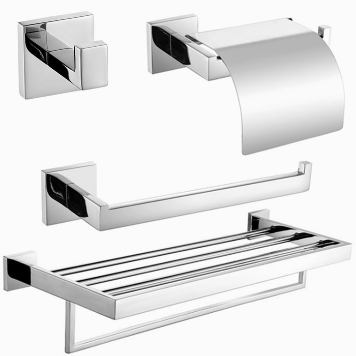 Free shipping,304 Stainless Steel Bathroom hardware Set,paper holder,towel ring,robe hook,Towel Bar SM066-a 5pcs 304 stainless steel capillary tube 3mm od 2mm id 250mm length silver for hardware accessories