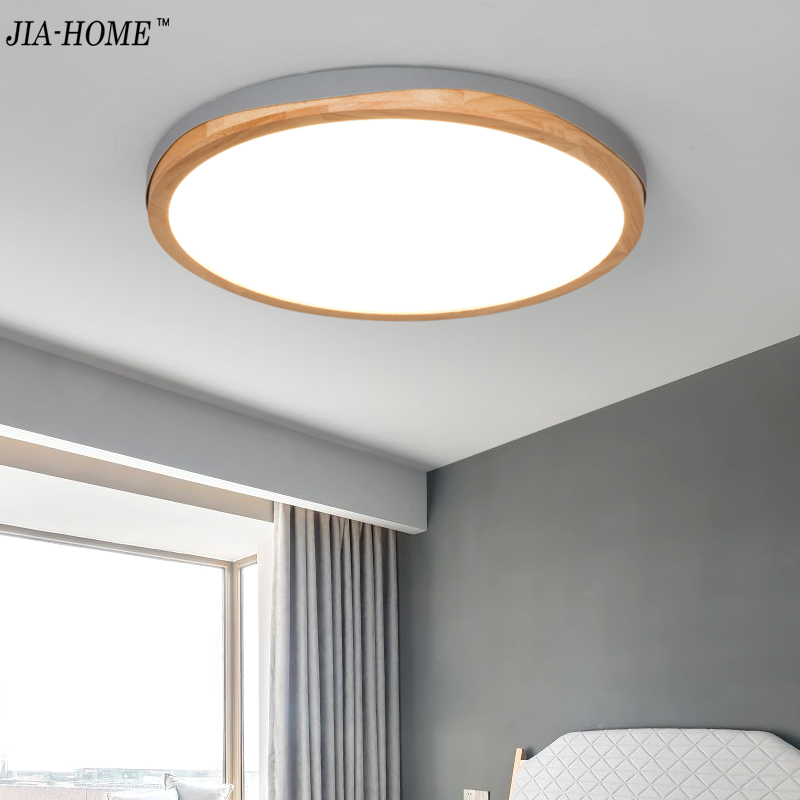 Ceiling Lights Dedicated Multicolor Ultra-thin Led Round Ceiling Light Modern Panel Lamp Lighting Fixture Living Room Bedroom Kitchen Ceiling Lights & Fans Remote Contro