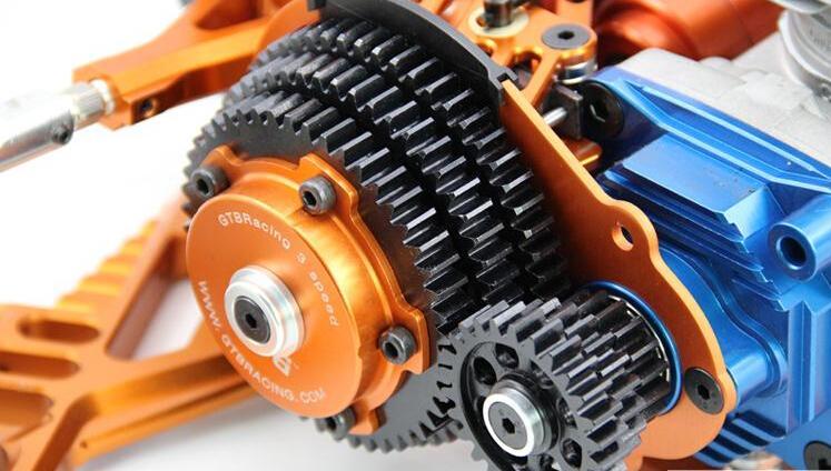 1/5 rc auto gas GTB racing 3 Speed transmissie Gear Set voor Hpi Baja 5B/5 T/5SC gratis verzending rc auto drie speed-in Onderdelen & accessoires van Speelgoed & Hobbies op  Groep 1