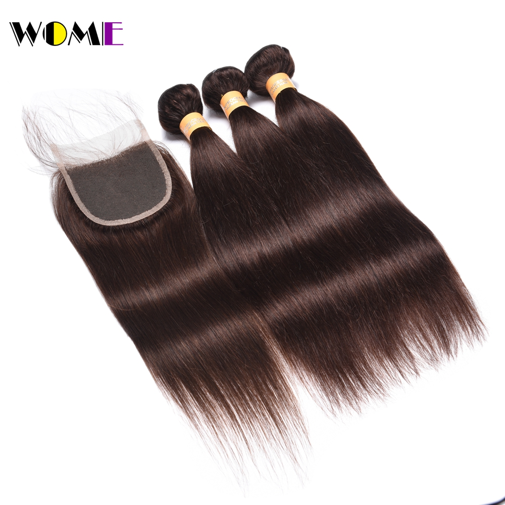 3/4 Bundles With Closure Wome Burmese Hair Weave 3 Bundles With Closure Ombre Burgundy Burmese Body Wave Human Hair Bundles With Lace Closure