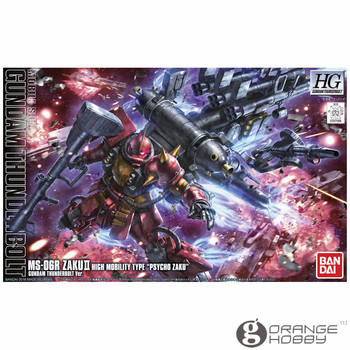 Bandai HG Thunderbolt 09 1/144 MS-06R Psycho Zaku Animation Ver Mobile Suit Assembly Model Kits