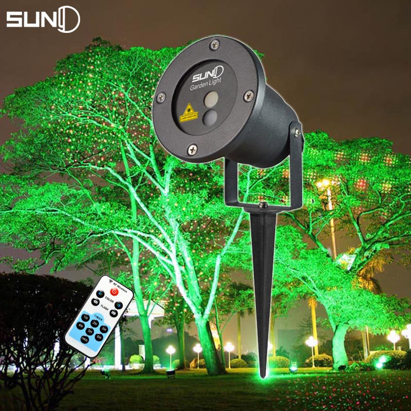 Suny Remote Christmas Outdoor RG Laser Light Show