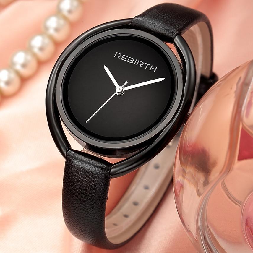ODRODZENIE 2017 Panie Wrist Watch Kobiety Marka Znani Kobieta Zegar - Zegarki damskie - Zdjęcie 1