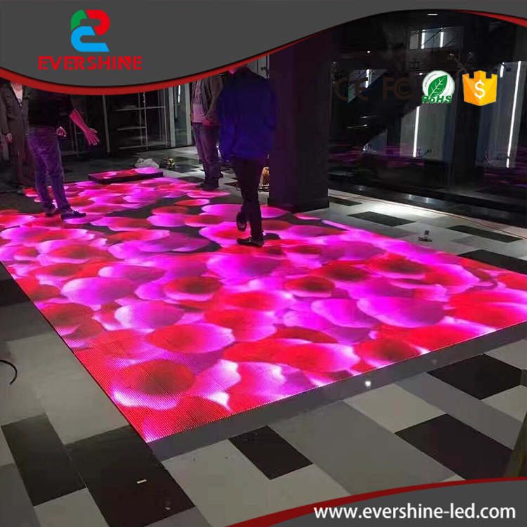 Hot selling product protable p5.2 led video dance floor rental led hd display panel p6 fullcolor rental advertisingwifi led display floor standing digital signage