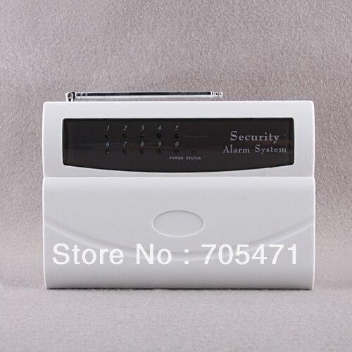 system with LCD display 9-Zone Intelligent Wireless Alarm