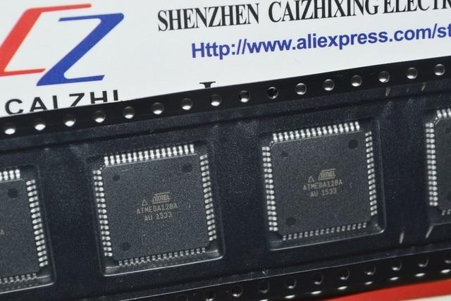 Darmowa wysyłka ATMEGA128A AU ATMEGA128A ATMEGA128 8 bitowy mikrokontroler z 128K bajtów w systemie programowalna lampa błyskowa