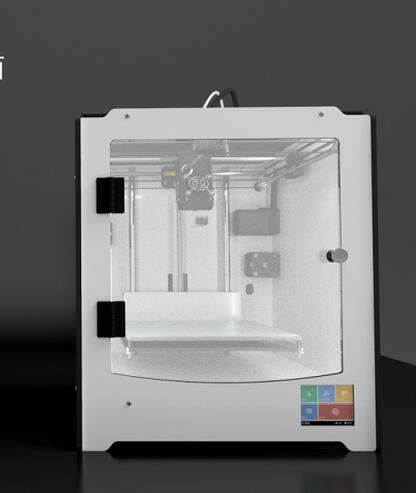 цена на 3D pinter DIY kit ultimaker crossed-axes color printer with big size and high accuracy