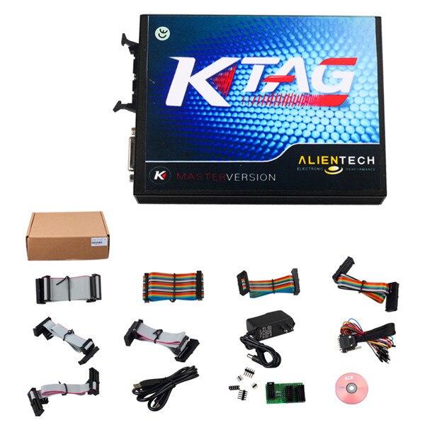 Nouveau V2.10 KTAG K-TAG outil de programmation ECU Version principale matériel V5.001 KTAG V2.10 outil de réglage des puces