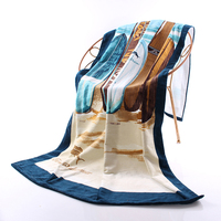 Large Beach Towels For Adults Luxury Toalhasde Banho Toallas Swim Bath Towels Egyptian Cotton Woman Swim Towel Quick Dry QQC348
