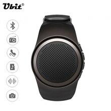 Ubit B20 Reloj Inteligente Manos Libres de llamadas Con disparador automático Anti-Pérdida de Alarma Radio FM Tarjeta TF el Deporte de la música Mini Altavoz Bluetooth