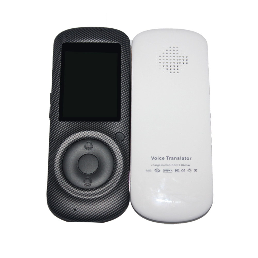 2018 BDF 2.4 Inch Screen Translate Machine Portable Wifi Device Smart Voice Tourism Shopping Conversation Online Intelligent