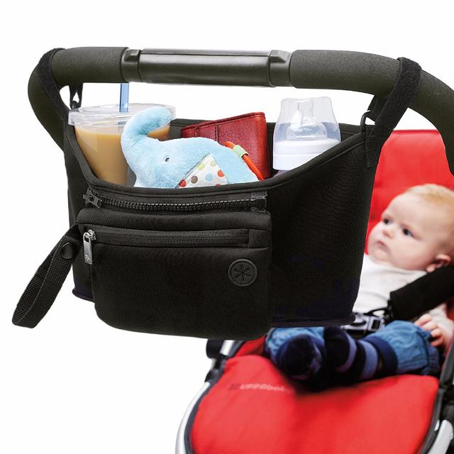 Baby Stroller Organizer Bag Diaper Bag Hook Baby Carriage Hanging Storage Bag Cartoon Folding Elephant Travel Nappy bag