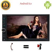 7 Android 6 0 Quad Core 1G 16GB Car Stereo Car Player Head Unit Support Some