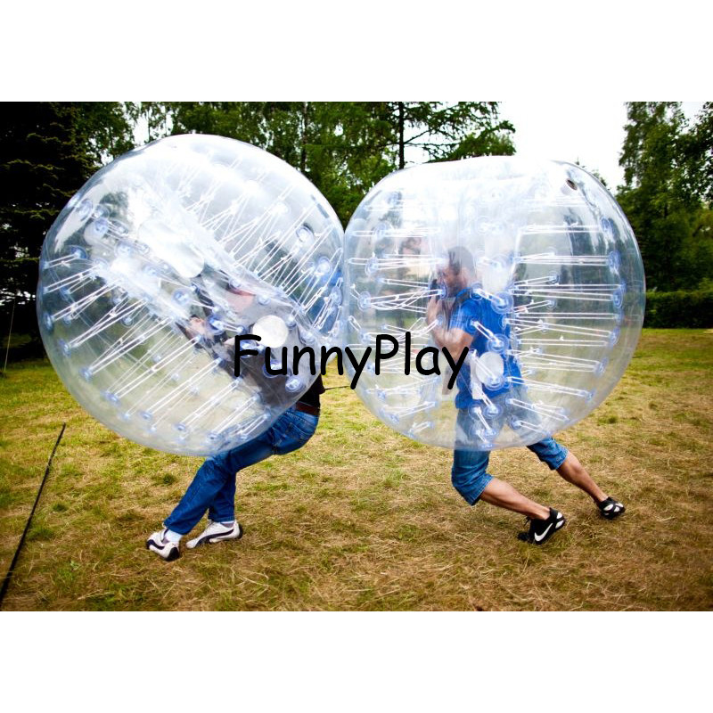 1.5M Body Inflatable Bumper Football Zorb Ball Human Bubble Soccer Ball