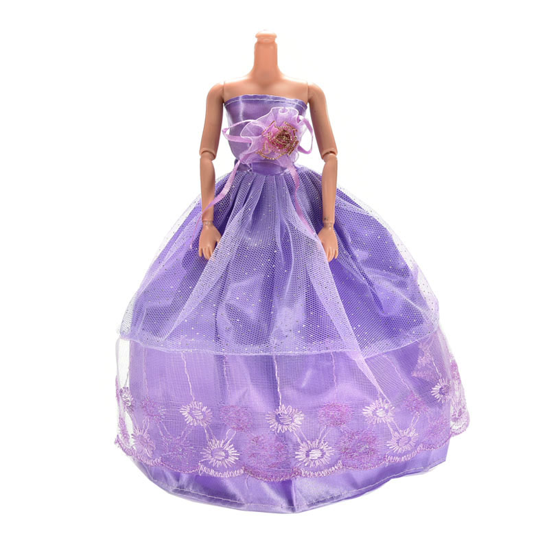 1set party doll clothes accessories doll top dress for boys girls best gift fg