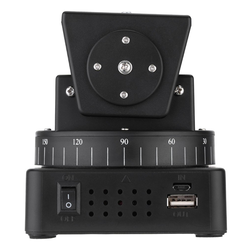Zifon YT-260 Remote Control Motorized Pan Tilt Head for Extreme Camera Wifi Camera and Smart phone
