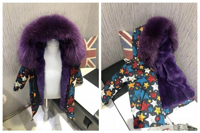 child winter real fur parkas coat (13)
