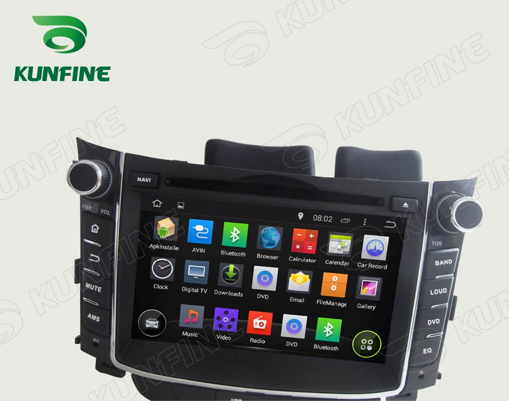 Car dvd GPS Navigation player for I30 2011-2013 7 inch D