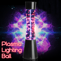 NEW 220V Magic Lighting Ball Plasma Ball Static Ball Sensor Lamp Electrostatic Ion Lamp EU Plug