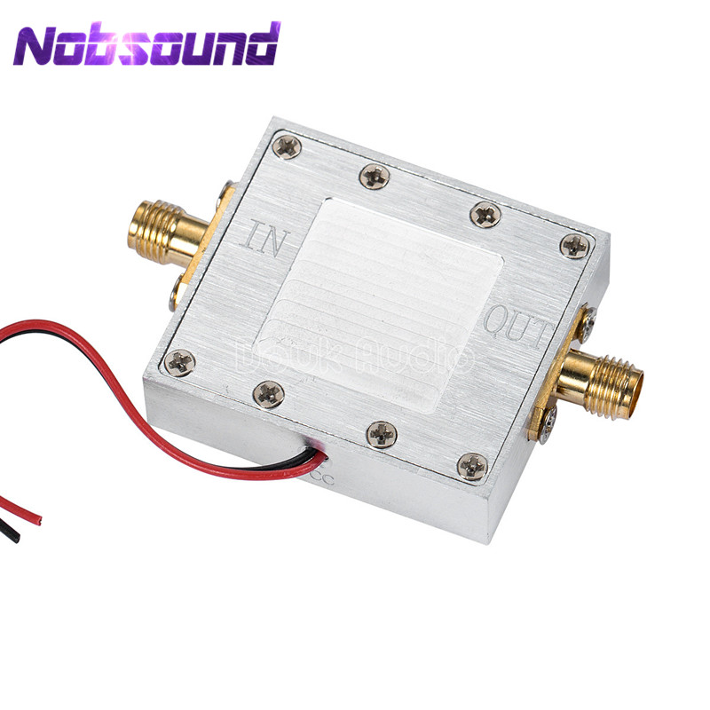 RF Signal Amplifier Module LNA Low Noise Amp 0.05-4GHz NF 0.8dB 46mA BeiDou xn297l 2 4ghz wireless module