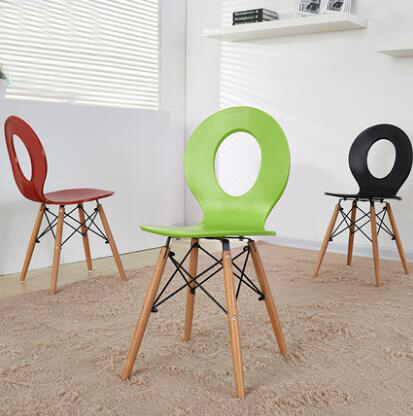 YINGYI Free Shipping Modern Plastic Dining Chair Without ...