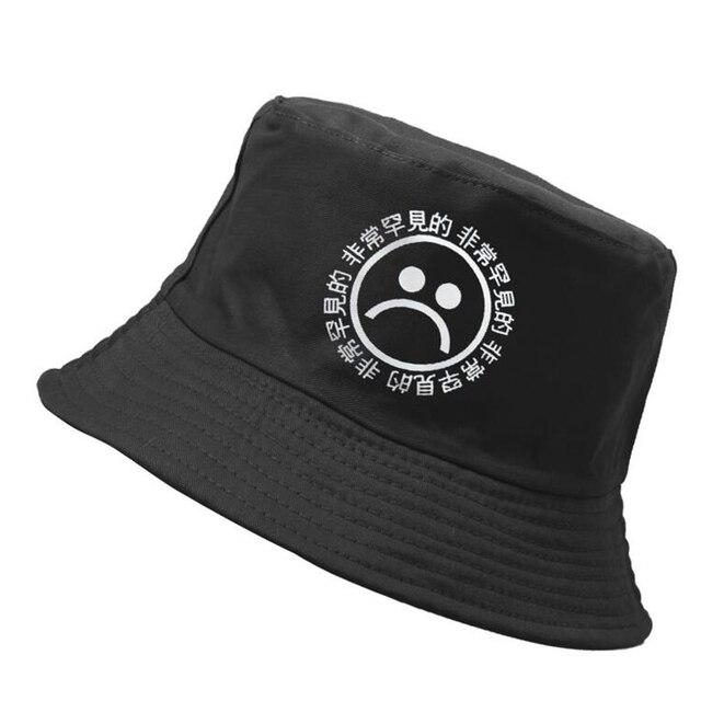 Yung Lean Hip Hop Flat Caps Fisherman Hat Panama Sad Boys Bucket Hat Men  And Women Hat Bob 3b65c4d0077c