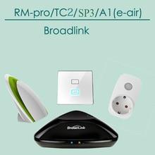 Broadlink RM2 RM PRO Contol Remoto Universal WiFi IR RF + SP3 Enchufe Inteligente WiFi Inalámbrico Socket Fuente de Alimentación En Casa automatización